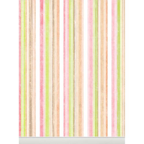 Click Props Backdrops Pastel Stripes Backdrop (7 x 9.5')