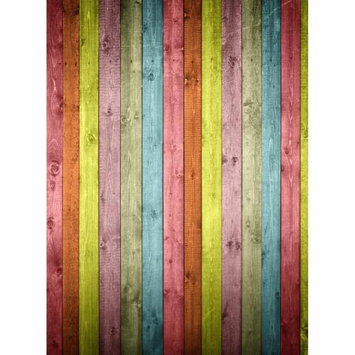 Click Props Backdrops Colored Wood Backdrop (7 x 9.5')