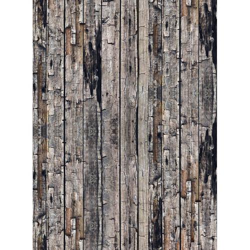 Click Props Backdrops Rustic Wood Backdrop (7 x 9.5')