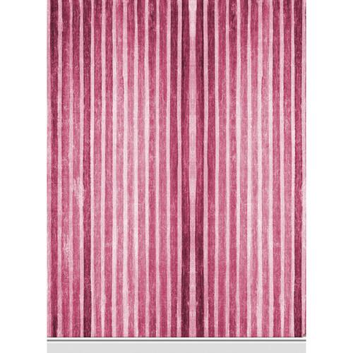 Click Props Backdrops Ruby Stripe Backdrop (7 x 9.5')