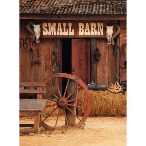 Click Props Backdrops Outside Barn Backdrop (9.5 x 7')