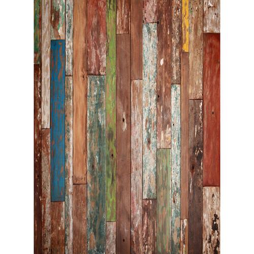 Click Props Backdrops Driftwood Backdrop (7 x 9.5')