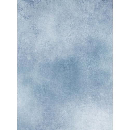 Click Props Backdrops Mottled Blue Backdrop (7 x 9.5')