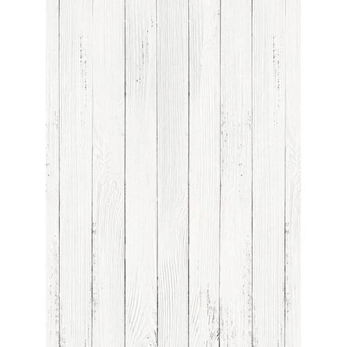Click Props Backdrops White Wash Floor Backdrop (7 x 9.5')