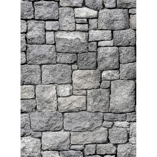 Click Props Backdrops Castle Wall Backdrop (7 x 9.5')