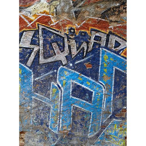 Click Props Backdrops Squad Graffiti Backdrop (7 x 9.5')