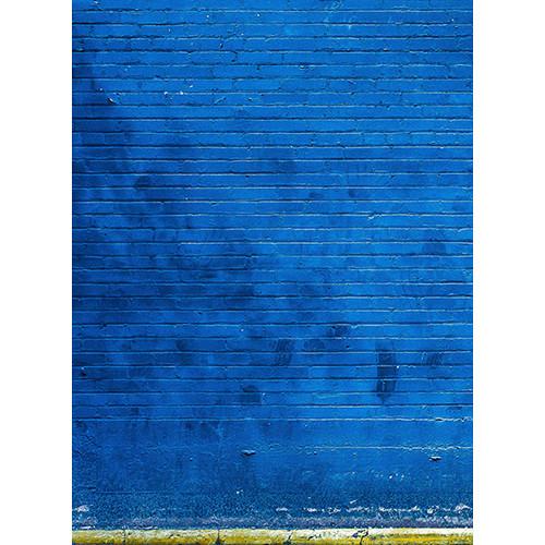 Click Props Backdrops Blue Brick Backdrop (7 x 9.5')