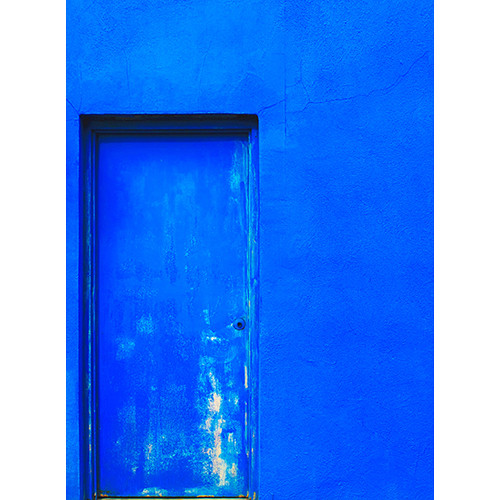 Click Props Backdrops Impact Blue Wall Backdrop (7 x 9.5')