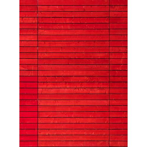 Click Props Backdrops Impact Red Wall Backdrop (7 x 9.5')