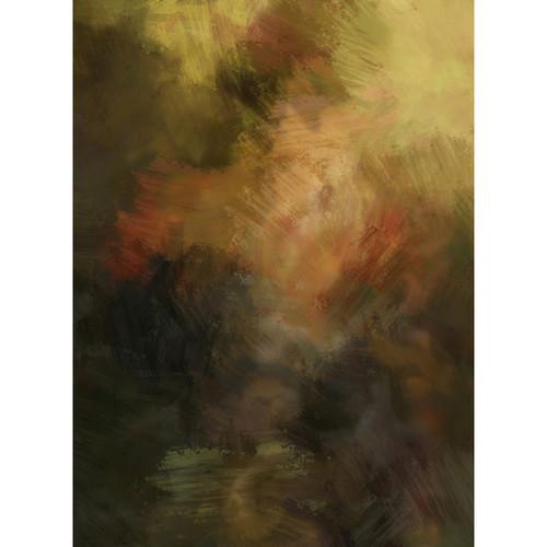 Click Props Backdrops Brushstroke Master Brown Backdrop (7 x 9.5')