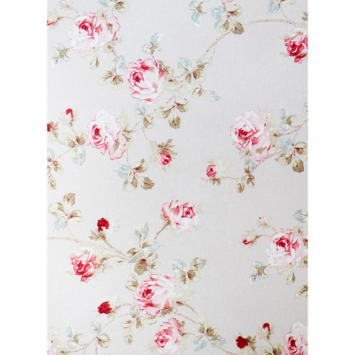 Click Props Backdrops Vintage Faded Floral Backdrop (9.5 x 7')
