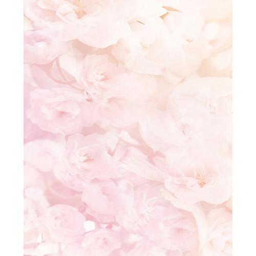 Click Props Backdrops Soft Pink Flowers Backdrop (9.5 x 7')
