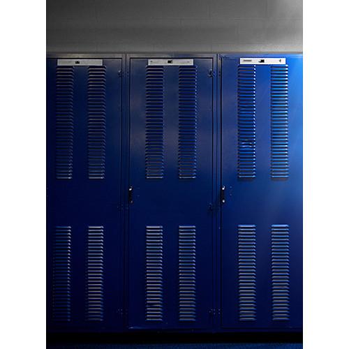 Click Props Backdrops Dramatic Lockers Backdrop (7 x 9.5')