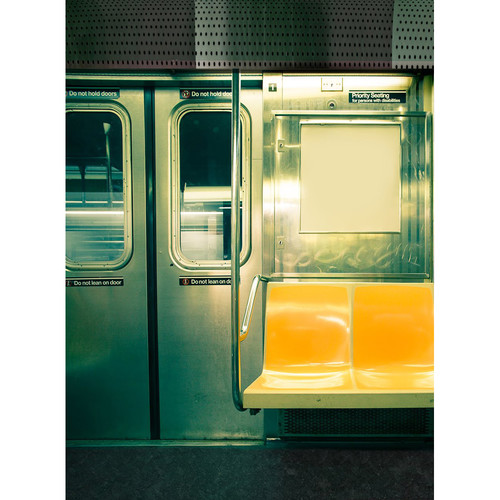 Click Props Backdrops Subway Train Backdrop (7 x 9.5')