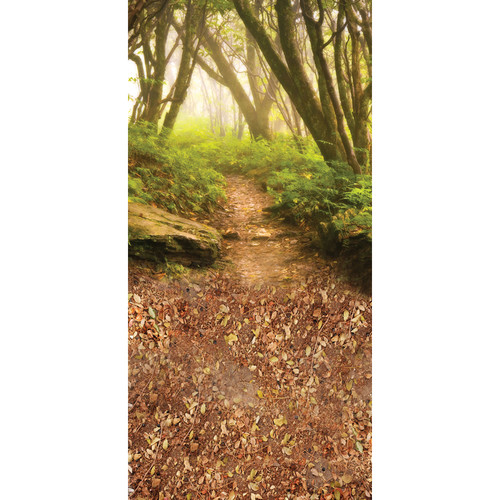 Click Props Backdrops Forest Path - Small Double Backdrop (5 x 9')