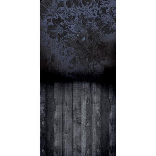 Click Props Backdrops Flowerbomb Blue Backdrop (5 x 9.8')