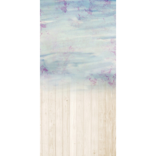 Click Props Backdrops Purples Wash Boards Backdrop (5 x 9.8')
