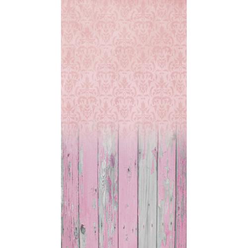 Click Props Backdrops Damask Pale Pink Backdrop (5 x 9.8')