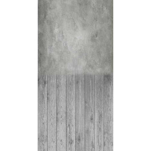 Click Props Backdrops Soft Master Gray Boards Backdrop (5 x 9.8')
