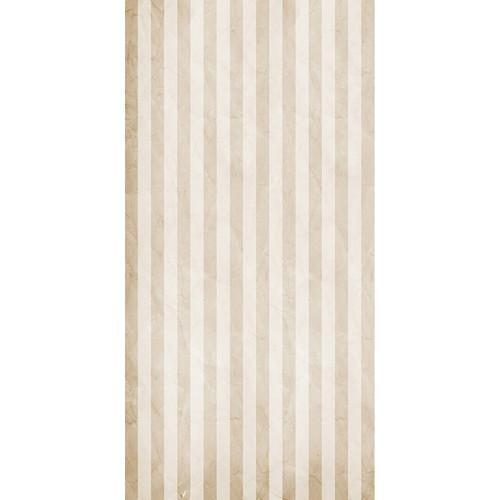 Click Props Backdrops Cream Stripe Backdrop (5 x 9.8')