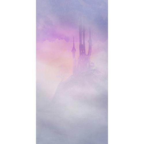 Click Props Backdrops Purple Castle Backdrop (5 x 9.8')