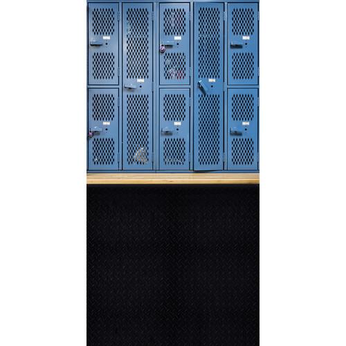 Click Props Backdrops Locker Room Backdrop (5 x 9.8')