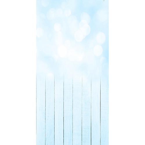 Click Props Backdrops Baby Bokeh Blue Backdrop (5 x 9.8')