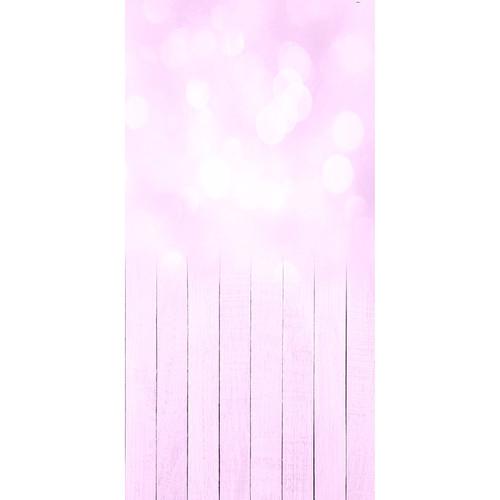 Click Props Backdrops Baby Bokeh Pink Backdrop (5 x 9.8')