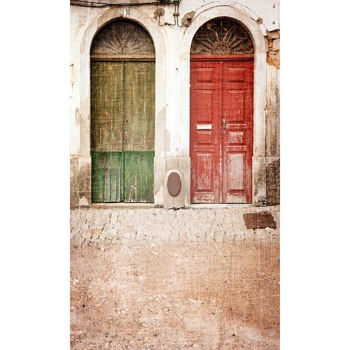 Click Props Backdrops Twin Doors Backdrop (9 x 15')