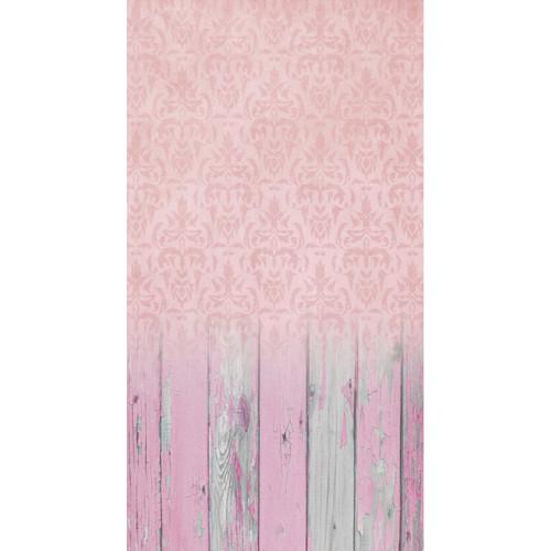 Click Props Backdrops Damask Pale Pink Backdrop (7 x 13')