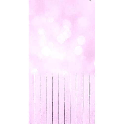 Click Props Backdrops Baby Bokeh Pink Backdrop (7 x 13')