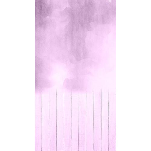 Click Props Backdrops Stonewash Purple Backdrop (7 x 13')