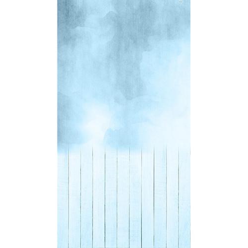 Click Props Backdrops Stonewash Blue Backdrop (7 x 13')