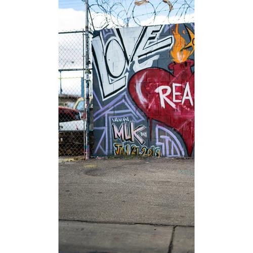Click Props Backdrops Las Vegas Graffiti Backdrop (7 x 13')