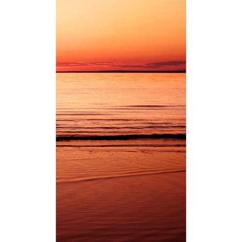 Click Props Backdrops Sunset Beach Backdrop (7 x 13')