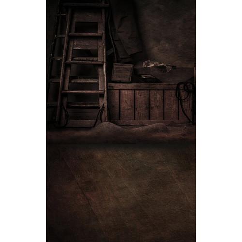 Click Props Backdrops Portrait Master Ladders Brown Backdrop (13 x 8')