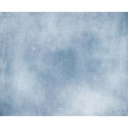 Click Props Backdrops Mottled Blue Backdrop (8 x 9.8')