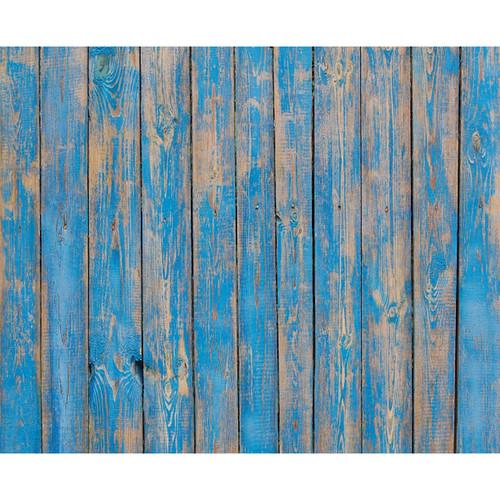 Click Props Backdrops Blue Decking Backdrop (8 x 9.8')