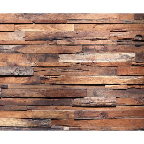 Click Props Backdrops Timber Wall Backdrop (8 x 9.8')