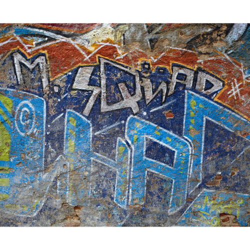 Click Props Backdrops Squad Graffiti Backdrop (8 x 9.8')