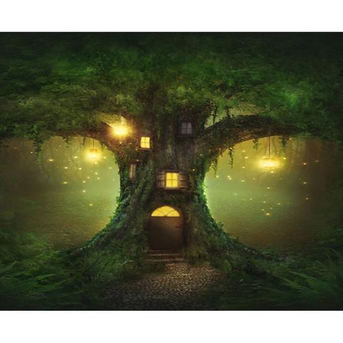 Click Props Backdrops Enchanted Tree Backdrop (8 x 9.8')