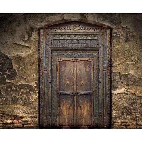 Click Props Backdrops Ancient Door Backdrop (8 x 9.84')