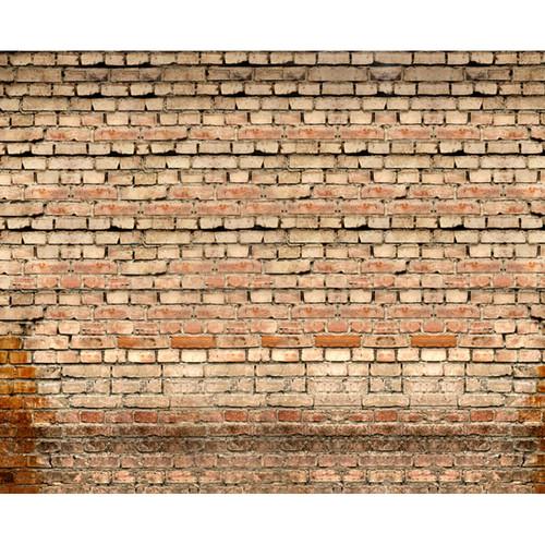 Click Props Backdrops Old Rural Brick Wall Backdrop (8 x 9.8')