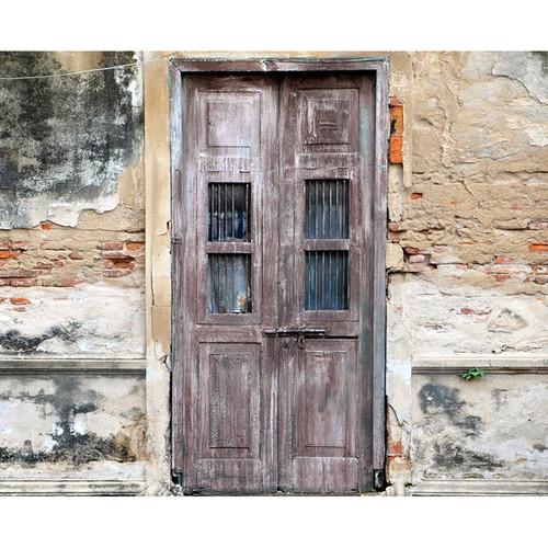 Click Props Backdrops Derelict Door Backdrop (8 x 9.8')