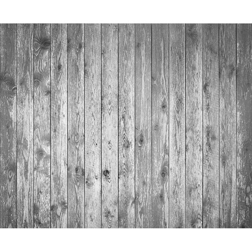 Click Props Backdrops Soft Gray Plank Backdrop (8 x 9.8')