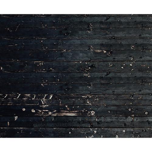 Click Props Backdrops Black Wood Plank Backdrop (8 x 9.84')