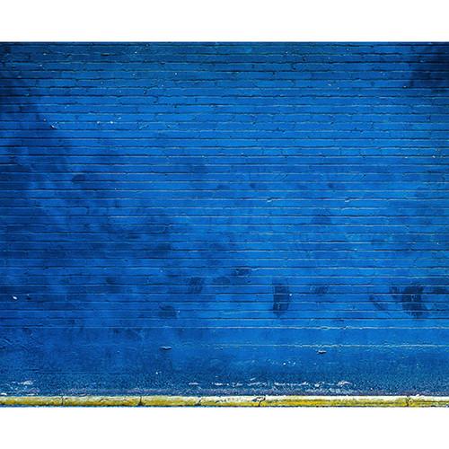 Click Props Backdrops Blue Brick Backdrop (8 x 9.84')