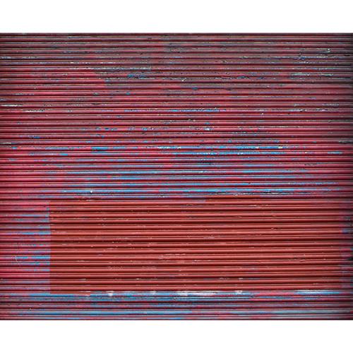 Click Props Backdrops Metallic Red Shutter Backdrop (8 x 9.8')