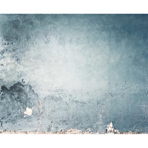 Click Props Backdrops Punchy Blue Plaster Backdrop (8 x 9.84')