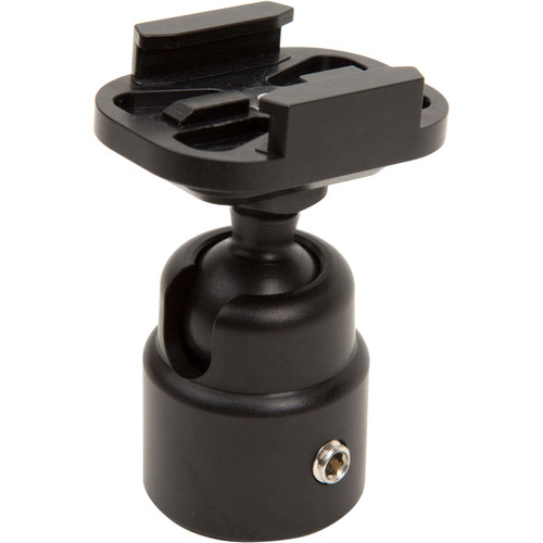 "ClickSnap 1/4""-20 Female Thread to GoPro Quick Release Plate Mini Ball Mount"